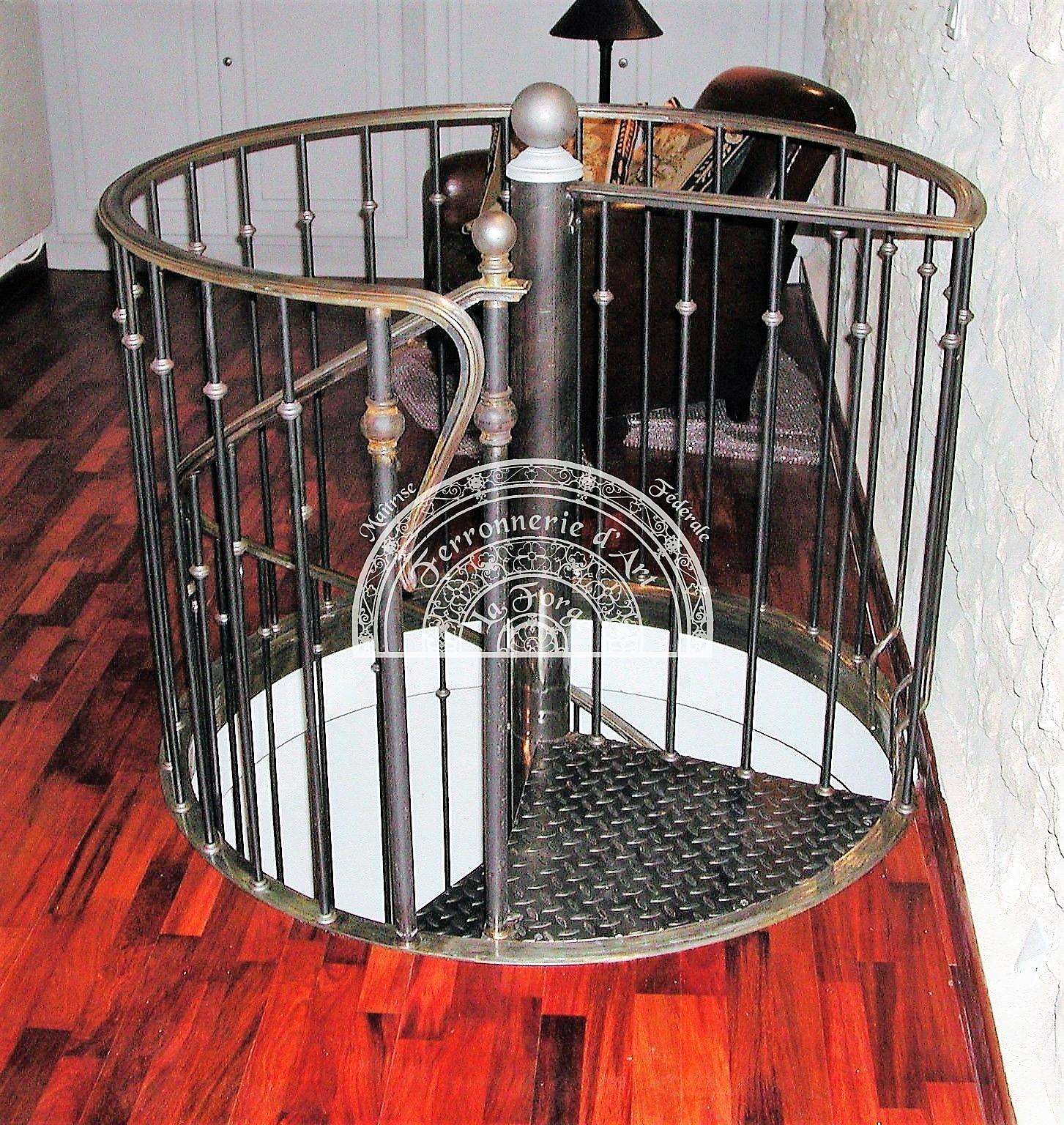 Escaliers métalliques. - Raffaele Martinoli - Ferronnerie d\'Art ...