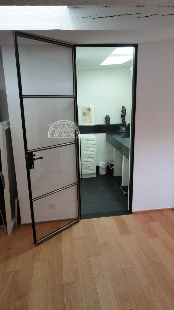 Porte vitr e pour salle de bain 4 raffaele martinoli ferronnerie d 39 art constructions - Porte vitree pour salle de bain ...